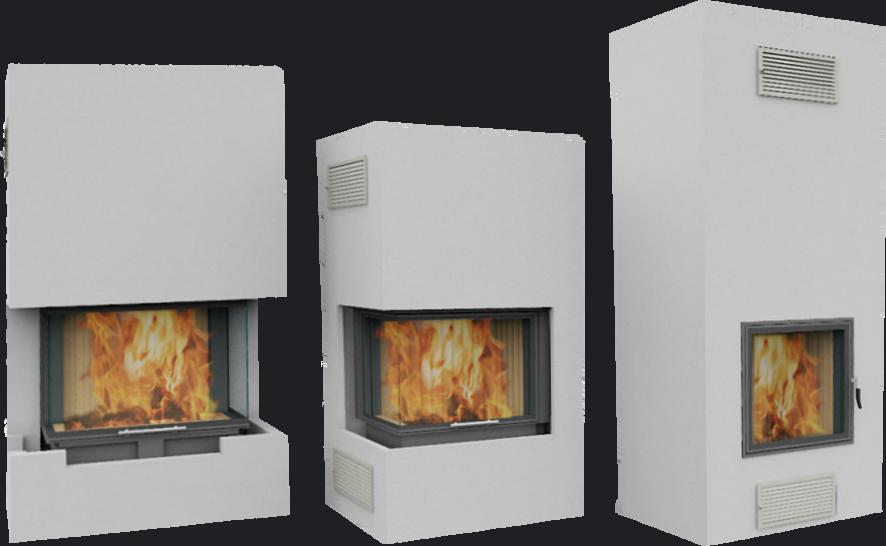 Zabudowy techniczne ogien