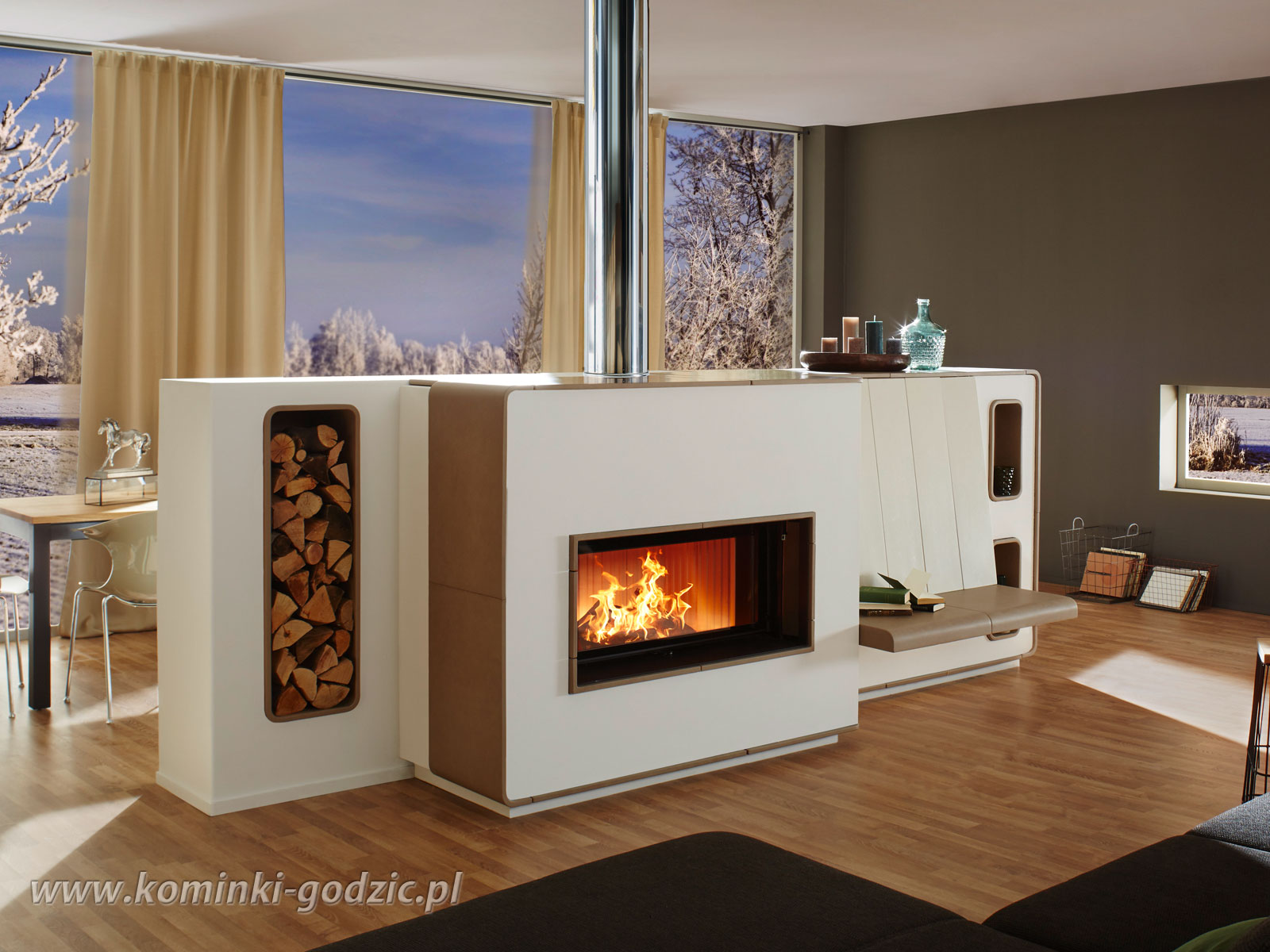 Kominek-akumulacyjny-NW128L-Brunner