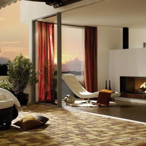 Kominki nowoczesne szyba panoramiczna NR 399