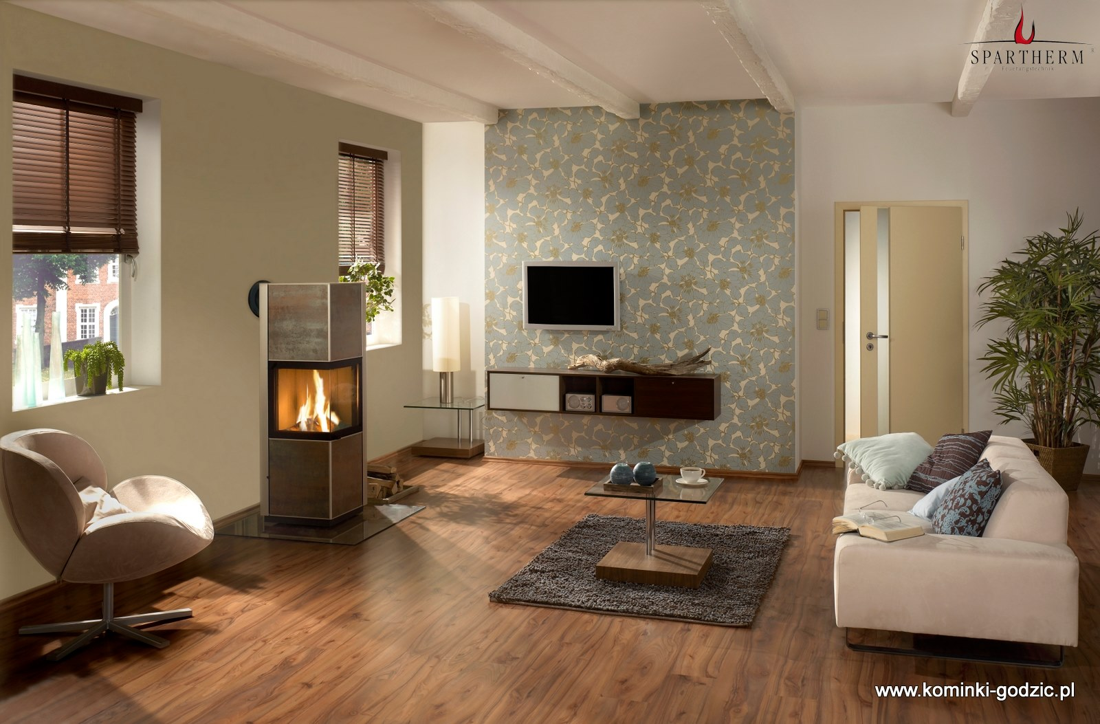 piecyki kominkowe spartherm galeria kominki. Black Bedroom Furniture Sets. Home Design Ideas