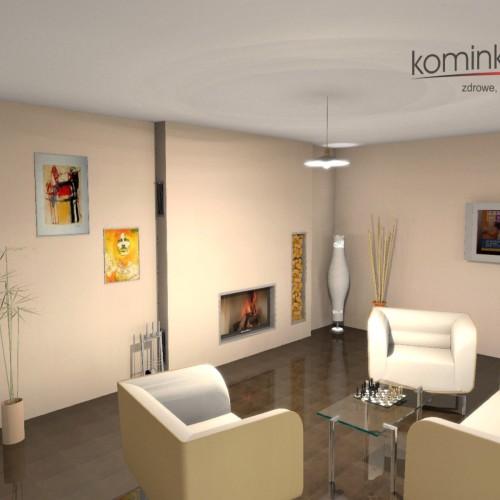 Projekt kominka NR 1067-02_2