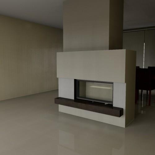 Projekt kominka NR 1153-04