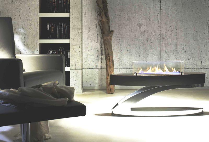 Biokomienk wolnostojcy firmy Spartherm model Ebios Fire