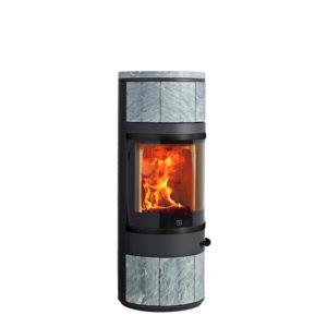 Piec na drewno Scan 83-5 BP 800x800