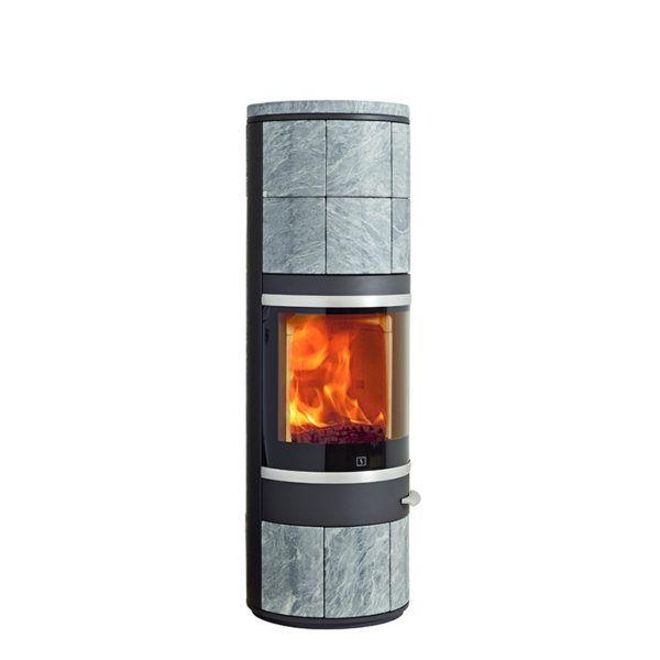 Piec na drewno Scan 83-8 Maxi BP 800x800