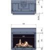 Kominek gazowy Faber Matrix 800-500 I