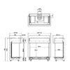 Kominek gazowy Faber Matrix 800-650 III