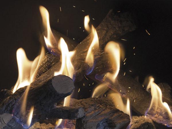 Kominek gazowy Kalfire GP65_75C ogień 1200x900