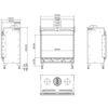Planika MONROE F rysunek techniczny 1200x900
