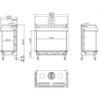 Planika MONROE LFR rysunek techniczny 1200x900