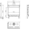 Planika VALENTINO FR rysunek techniczny