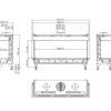 Planika VALENTINO LFR rysunek techniczny 1300 1200x900