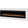 Kominek elektryczny Dimplex Prism 74 biała rama 1200x900
