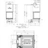 Arte U-50h rysunek techniczny 1200x900