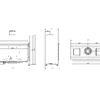 Lina-G-100 rysunek techniczny 2