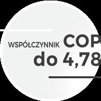 Wysoki współczynnik COP