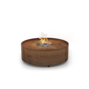 Galio Fire Pit Corten 800x800