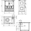 Rosetta Maiolica rysunek techniczny