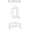 Faber MatriX 1050 400 I rysunek techniczny 2