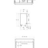 Faber MatriX 1300 400 I rysunek techniczny 2