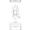 Faber MatriX 1300 400 II rysunek techniczny 2