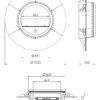 Spartherm Aviator rysunek techniczny2
