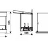 spartherm Cabinet Fire -rysunek techniczny